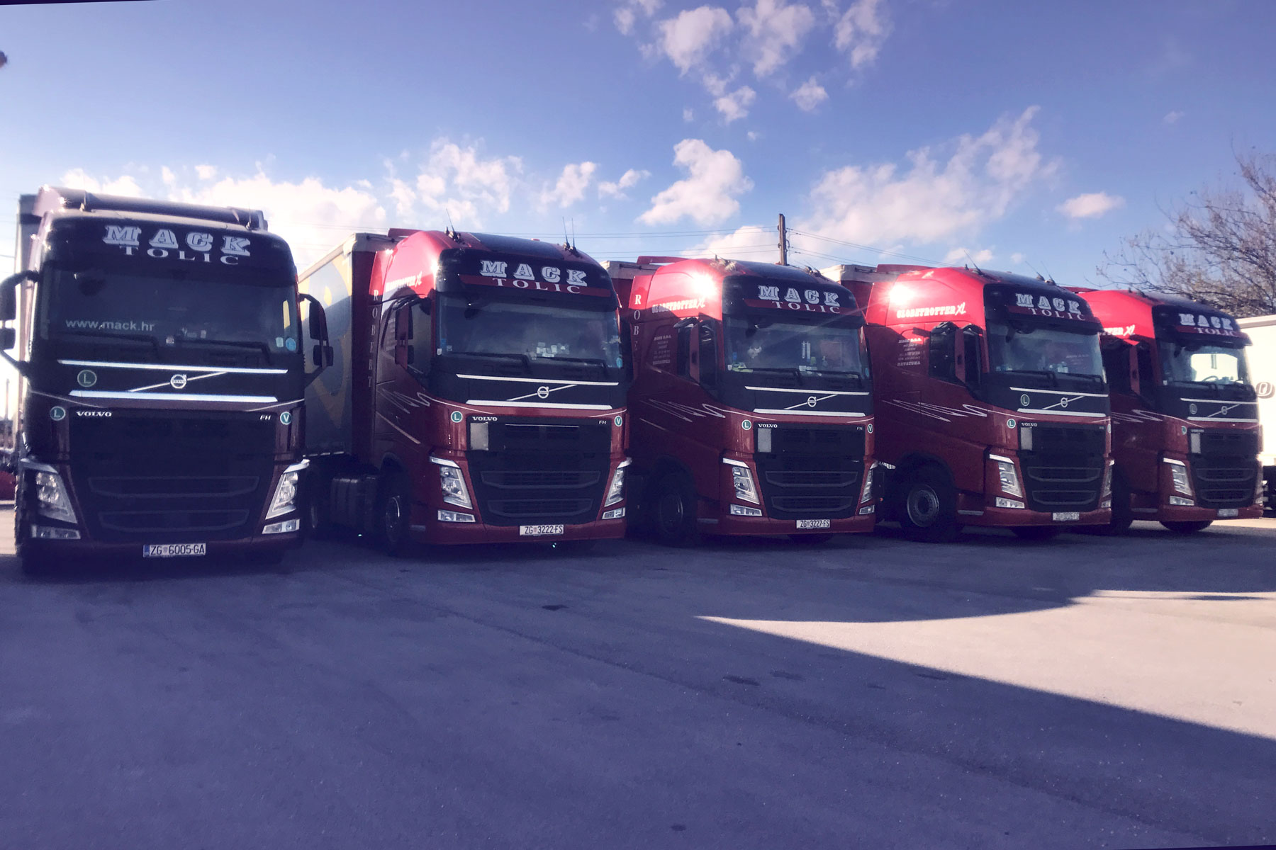 Mack transporti