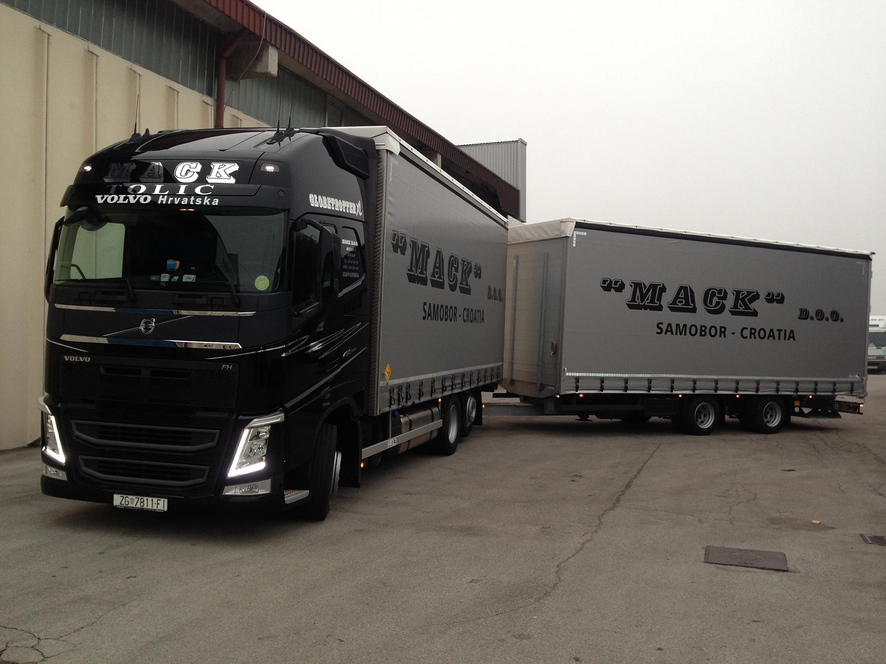 Mack d.o.o. - Transport