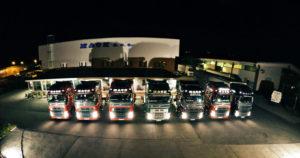 MACK SAMOBOR Night Trucks