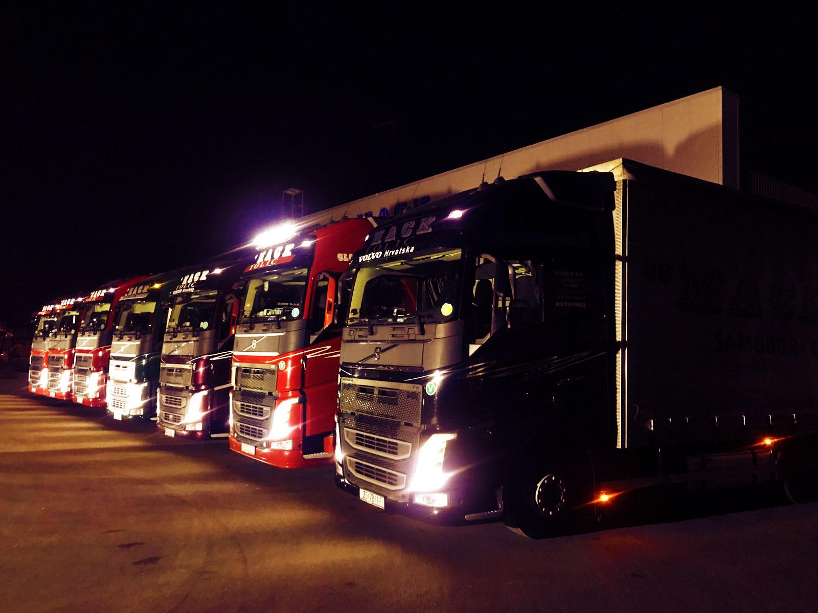 MACK d.o.o. night trucks
