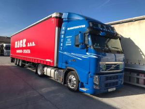 MACK D.O.O. blue truck